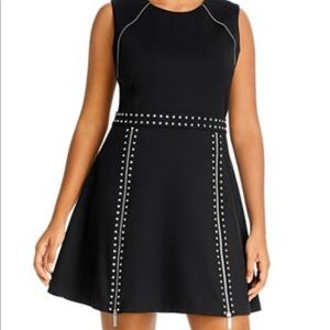 Michael Kors NWT! Studded dress. Fit and flare